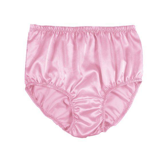 Luxurious Sissy Silky Knickers Full Briefs Panty Womens Underwear Shiny Silk  Satin Panties Wedding Gift Honeymoon 7ff6463cb