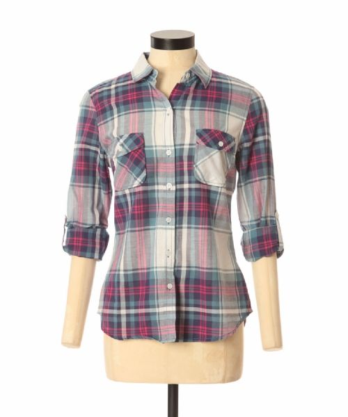 bootlegger.com : kismet warner pink plaid shirt - perfect for gift giving!