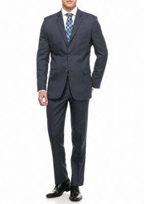 Greg Norman Collection Men's Modern-Fit Stretch 2-Piece Suit - Navy - 44 Regular