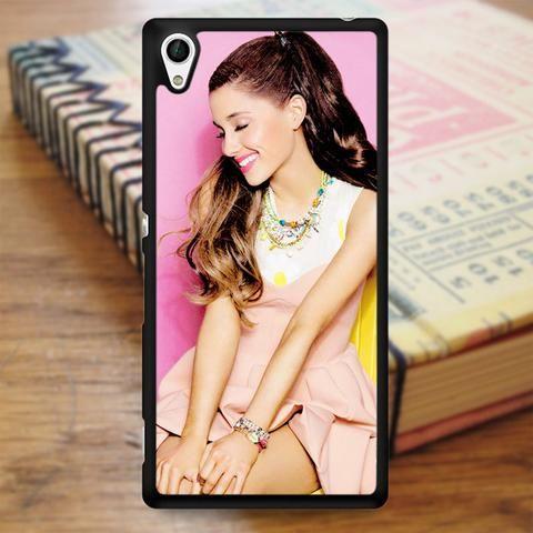 Ariana Grande Nice Smile Sony Experia Z4 Case