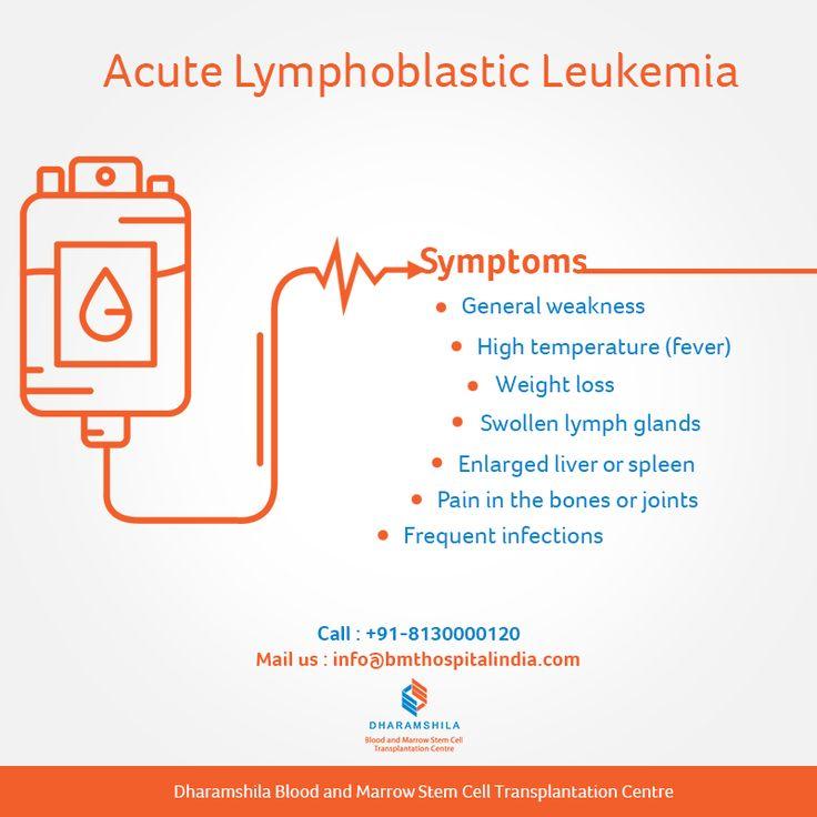 47 best Blood and Bone Marrow Transplant Hospital in Delhi ... Acute Lymphoblastic Leukemia Symptoms