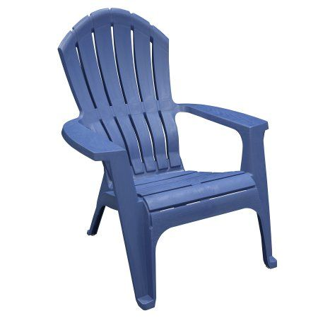 Adams Manufacturing Resin Patio Realcomfort Adirondack Patriotic