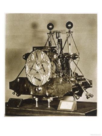 John Harrison's First Marine Chronometer Giclee Print