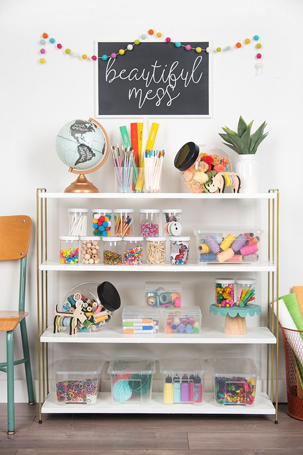 Hiya, creatives! I was sharing with a friend that we are working on a little space in my craft room just for my kids, so I though I would give you a peek too! Each of the kids have their own desk and drawers for their supplies, but I really wanted to have a space...Read More