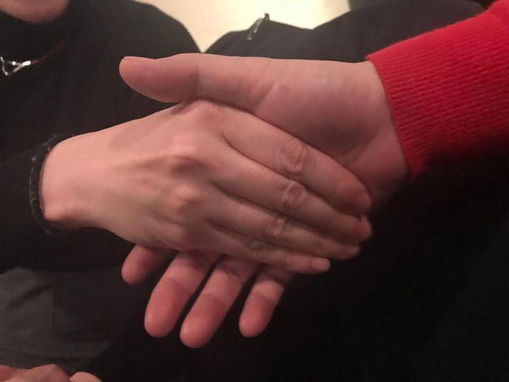 まーの 手が柔らかいとホッとします 手の温もりは伝わりますからね #リラクスペースmano