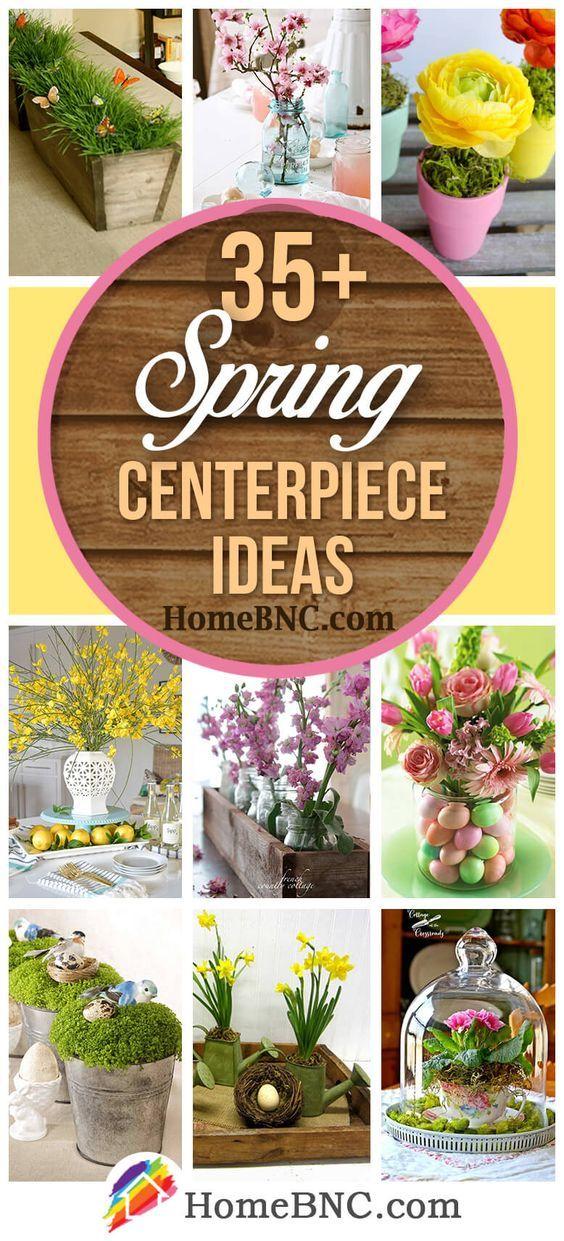 Spring Centerpiece Ideas Diy Crafts That I Love Pinterest