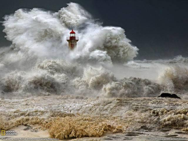 Oporto - Hercules storm