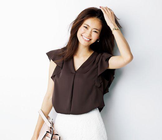 ●きれいめお仕事服を極める!「ひらり袖トップス」最新ニュース7つ ・ ・ ・ 甘いディテールこそ「大人アースカラー」でビターに着る  #葛岡碧 #anecan #anecan7月号 #fashion #brown #きれいめ