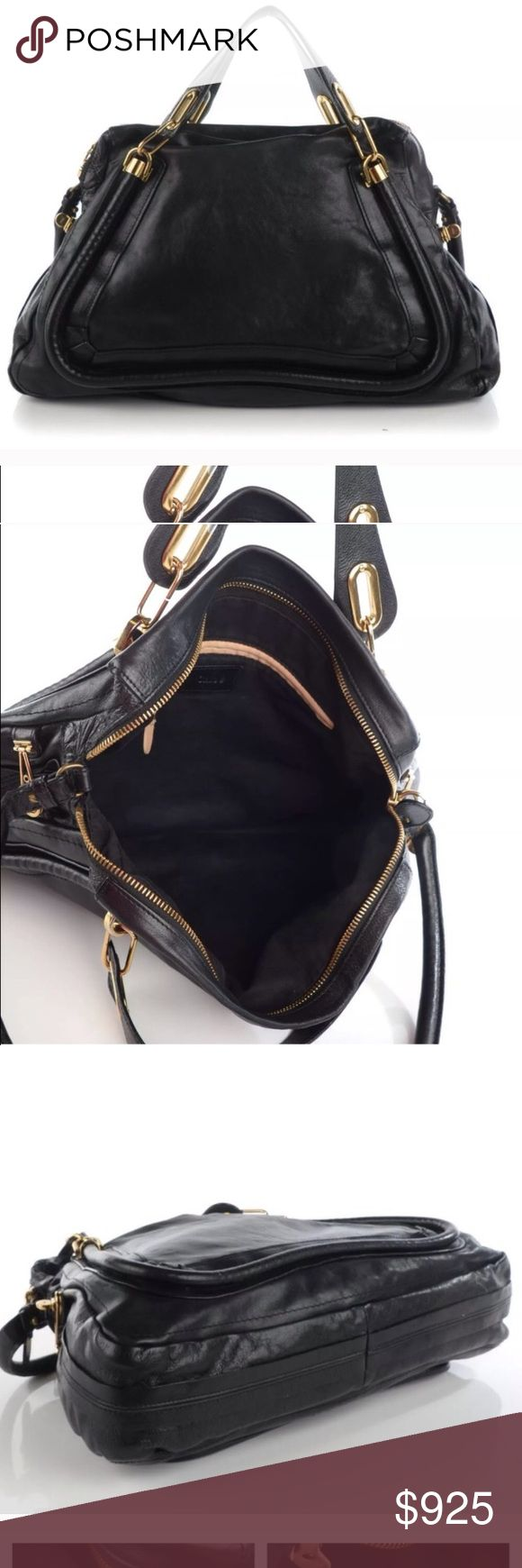Chloe paraty bag This bag is in excellent condition and 100 percent authentic it will go through posh conceirge first so you don't have to worry about authenticity . This bag had no flaws inside or out. Leather Odin excellent condition and professionally polished recently. No low balls . No dust bags or cards. Price reflects Chloe Bags Crossbody Bags