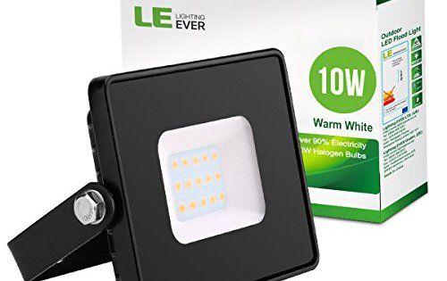 LE Projecteur LED Extérieur 10w 30W Etanche Eclairage Mural pour Extérieur Intérieur Mur Garage Jardin Arbre Terrasse: 800lm de flux…