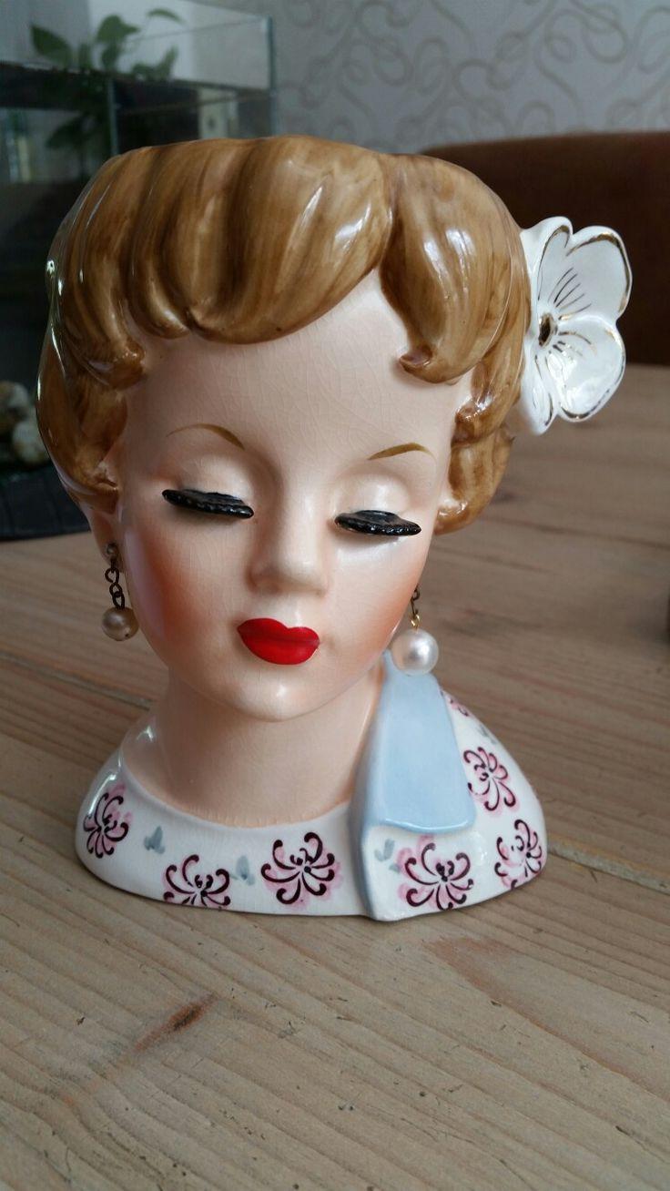930 best head vases images on pinterest jars vase and vases lady head vase reviewsmspy