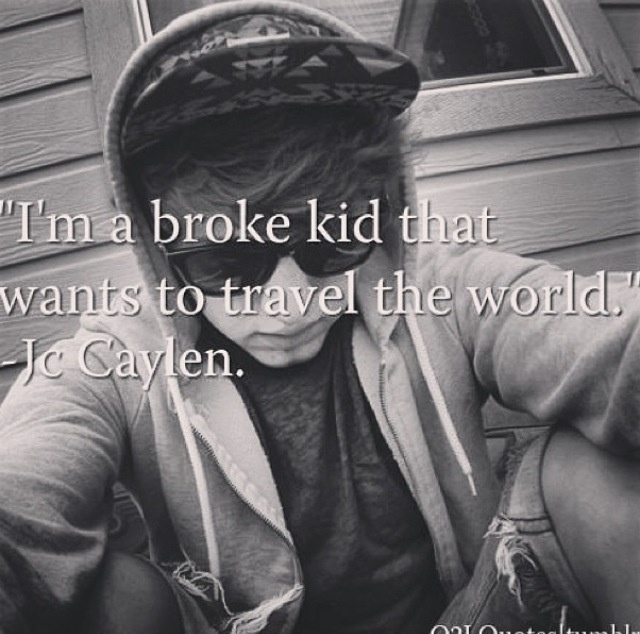 -JC Caylen....story of my life