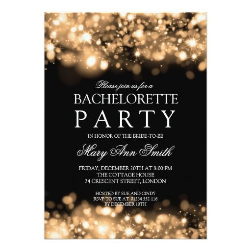 308 besten Bachelorette Party Invitations Bilder auf Pinterest