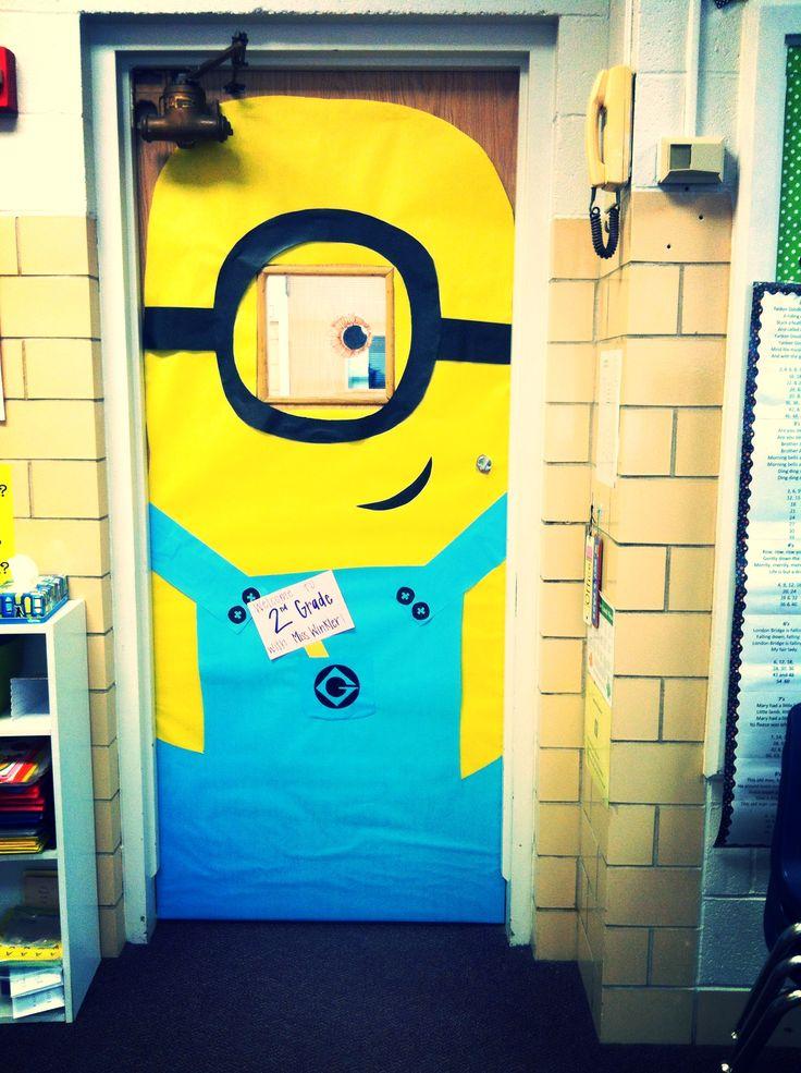 Minion Classroom Decoration Ideas ~ The best minion classroom door ideas on pinterest