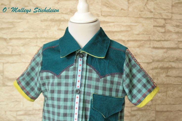 O´Malley: Einschulungsoutfit für Jungs Hemd Schnitt Joey von farbenmix