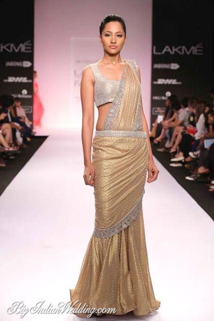 Jyotsna Tiwari Lakme Fashion Week 2014 | Lehengas & Sarees | Bigindianwedding