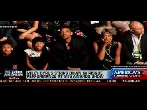 Will Smith And Family's Reaction To Miley Cyrus VMA Performance And The Mainstream Media's Hypocrisy
