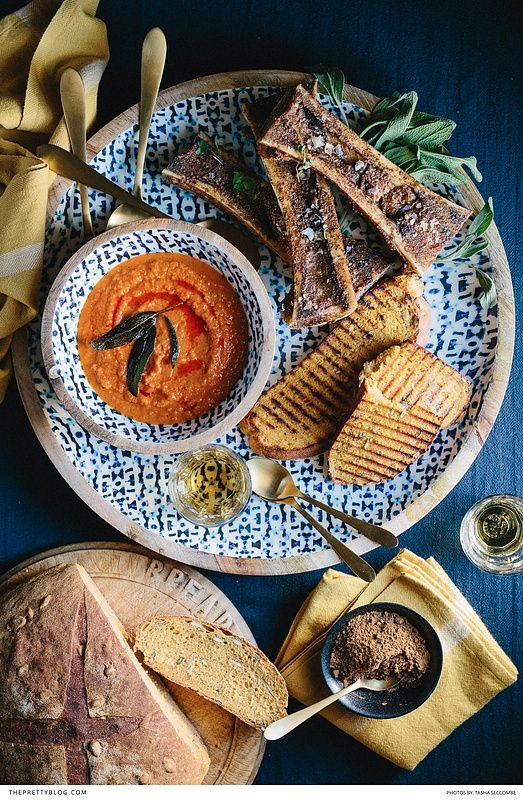 The ultimate tomato soup and pumpkin bread recipe! https://www.theprettyblog.com/food/ultimate-roasted-tomato-soup-with-pumpkin-bread/?utm_campaign=coschedule&utm_source=pinterest&utm_medium=The%20Pretty%20Blog&utm_content=Ultimate%20Roasted%20Tomato%20Soup%20with%20Pumpkin%20Bread