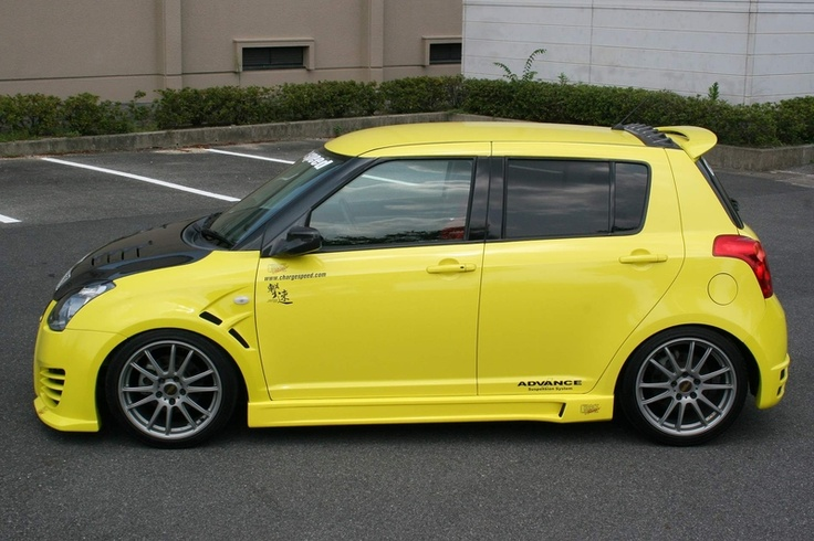 Suzuki Swift ChargeSpeed Body Kit