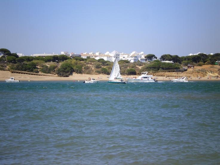 Para navegar no hace falta tener un destino prefijado. El Portil, Huelva