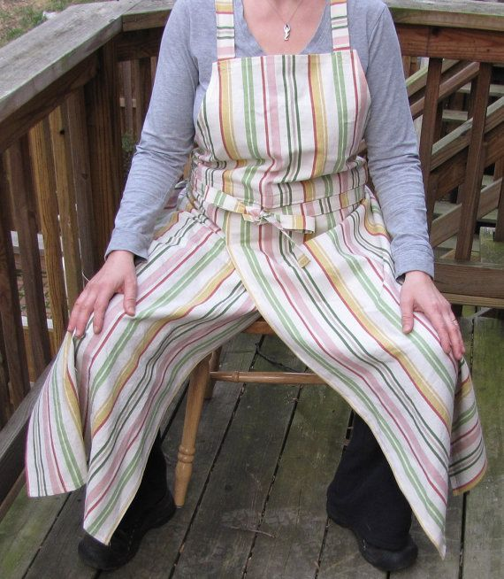 We are back in business after a brief summer hiatus. Already three orders! Go potters everywhere! Special Order Split Panel Pottery Apron by Christina