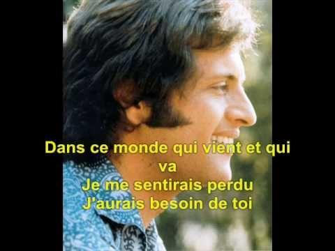 Teaching the conditionnel: Et Si Tu N'Existais Pas - Joe Dassin Lyrics - YouTube