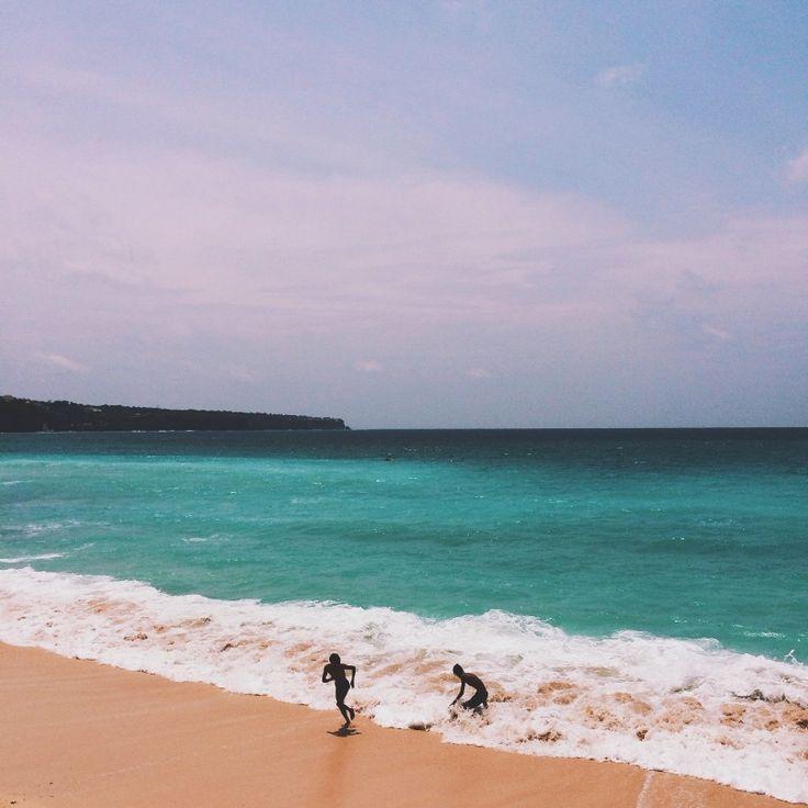 Endless summer in Bali. #beach