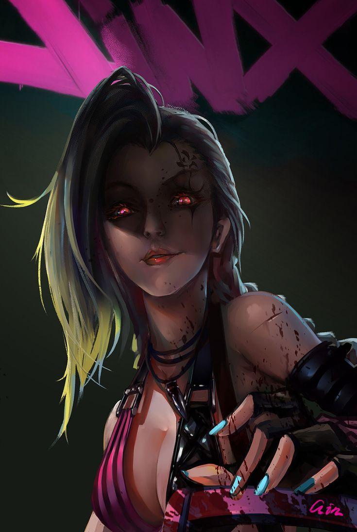 Jinx, League of Legends