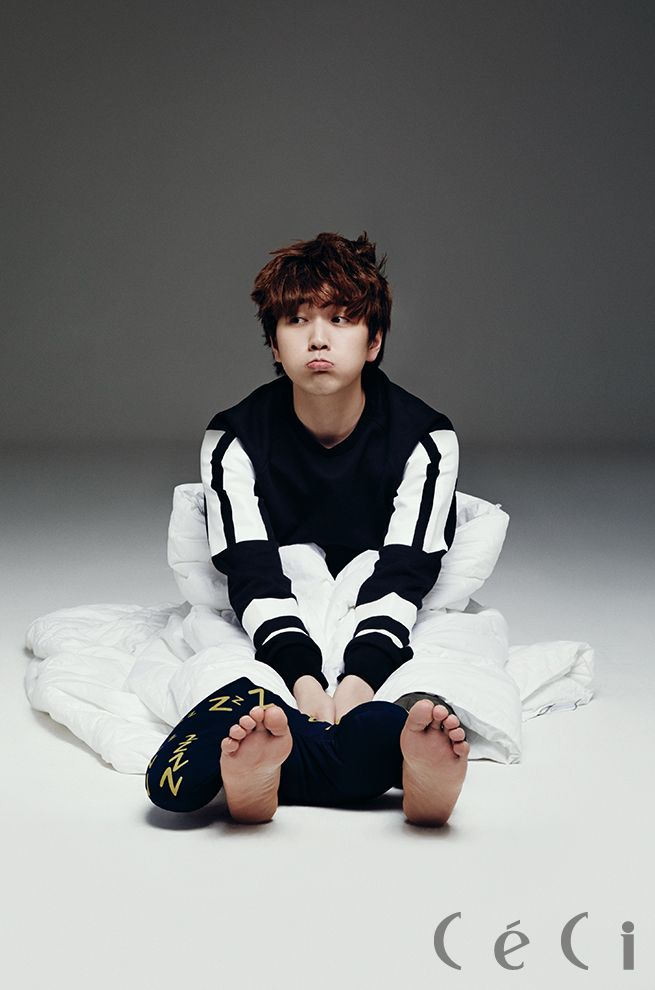 Sandeul - Ceci Magazine April Issue '14