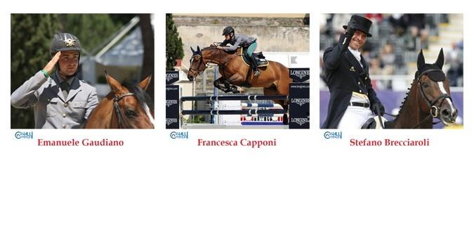 CAMPIONI 2012 selected by Cavalli Campioni: Emanuele Gaudiano, Francesca Capponi & Stefano Brecciaroli! Metti il tuo mi piace qui: http://www.facebook.com/CavalliCampioni