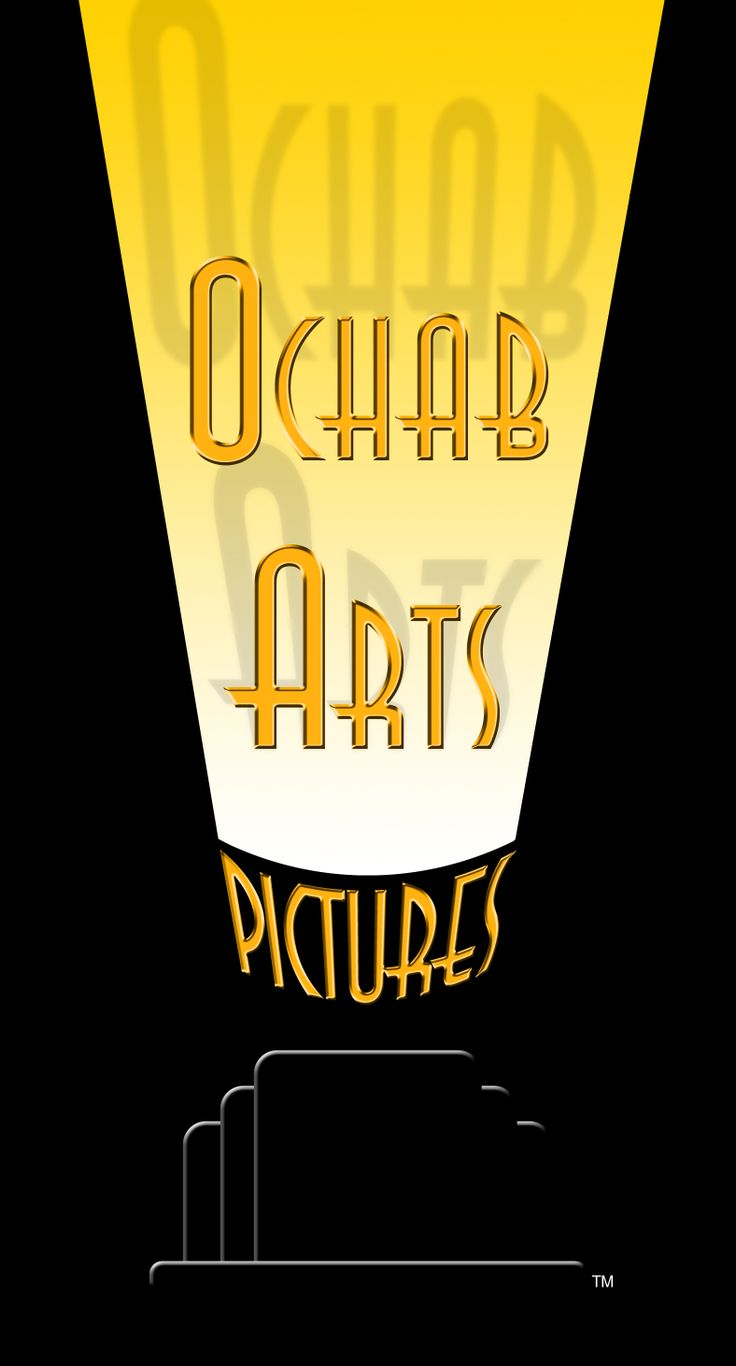 Brian Joseph Ochab is someone I first met as an international magician at the Magic Castle in Hollywood. Brian also is an accomplished director for TV and short films. He chose me to design this art deco logo for his production company in the tradition of the Golden Age of Hollywood.
