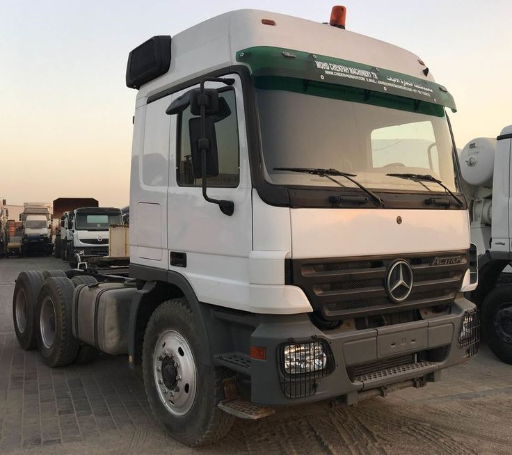 MERCEDES-BENZ Actros 3340 tractor units for sale, truck tractor, truck tractor unit from the Arab Emirates. www.Pitog.com عروض شاحنات للطلب من الاتحاد الأوروبي ادخل موقعنا للتواصل