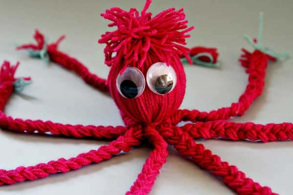 Octupus craft for toddlers