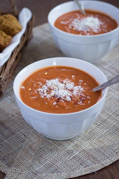 Tomato Bisque: Quick Tomato, Tomato Bisque, Queens, Yummy Food ...