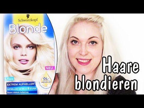 Haare hellblond blondieren | Gelbstich effektiv entfernen mit Drogerie Produkten: Endlich kommt das sehr angefragte Video zum Blondieren meiner Haare. Ich zeige Euch, welches Produkt ich zum Blondieren verwende, wie ich beim Blondieren vorgehe und wie man den Gelbstich aus den Haaren entfernen kann.