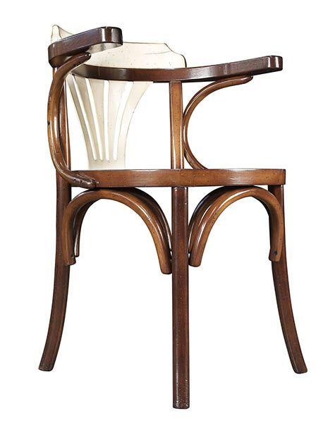 Navy Chair, honey/Ivory