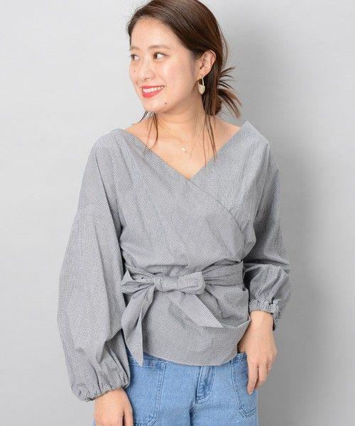【ZOZOTOWN|送料無料】Omekashi(オメカシ)のシャツ/ブラウス「カシュクールリボンブラウス」(OM17A0040040110)を購入できます。