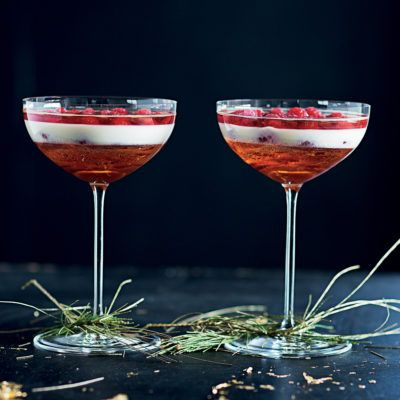 Taste Mag | Layered rosé champagne jelly and panna cotta @ https://taste.co.za/recipes/layered-rose-champagne-jelly-panna-cotta/