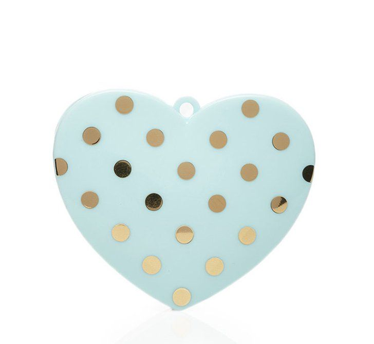 Pin for Later: Have a Heart! The Ultimate Girlie Gift Guide  Heart-Shaped Makeup Sharpener ($2)