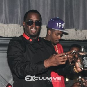 Diddy parties at Ivy Nightclub's grand opening in Miami written by Joi Pearson for Rolling Out photos by Exclusive Access