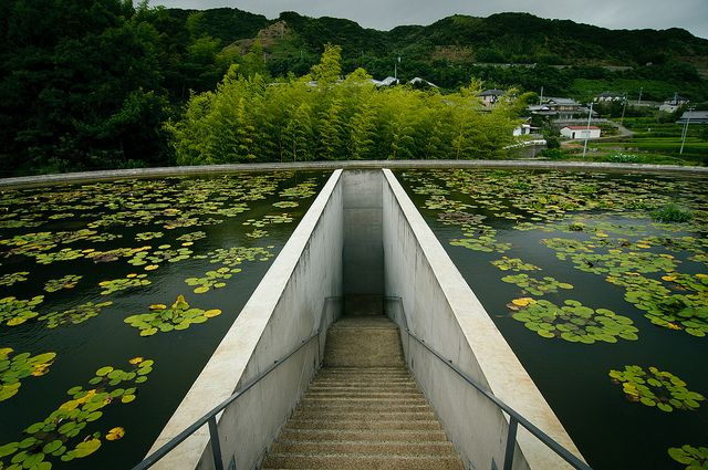 water temple. Tadao Ando