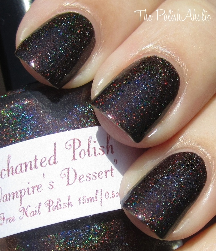 : Vampire Desserts, Polish Indie Nails, Indie Polish, Vampires Desserts, Enchanted Polish, Nails Colors, Hair Nails Mak, Polish Nails Polish Indie, Iso Enchanted