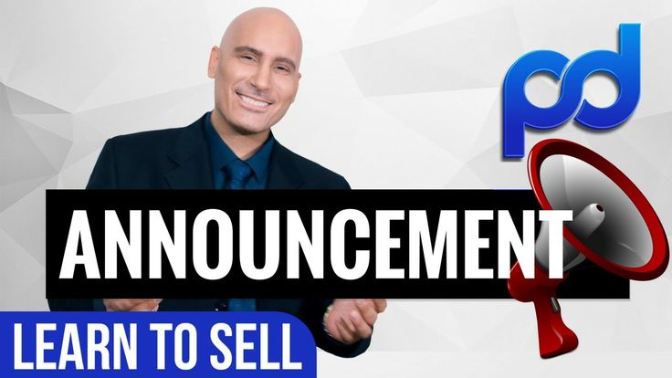 Expert Sales Training | Announcement Video | My Cancer Update