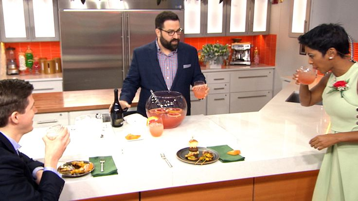 Throw an Asian-inspired cocktail party with tasty appetizers and a punch bowl