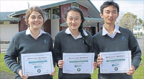 Success knows no boundaries for a group of Pakuranga College geography students.  The Eastern Courier.