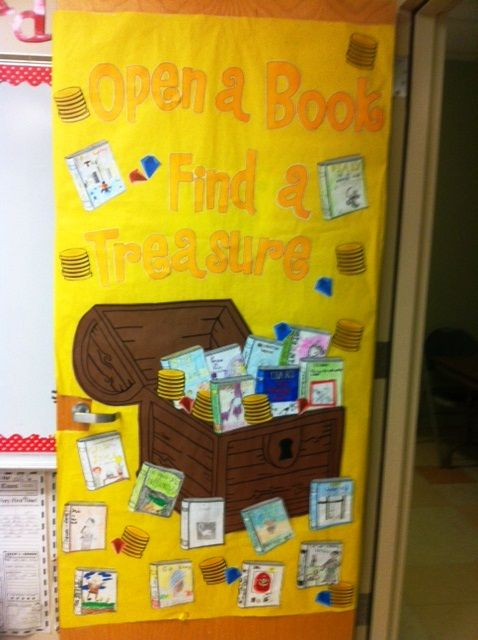 Reading Classroom Decoration ~ Best door decorating ideas on pinterest class