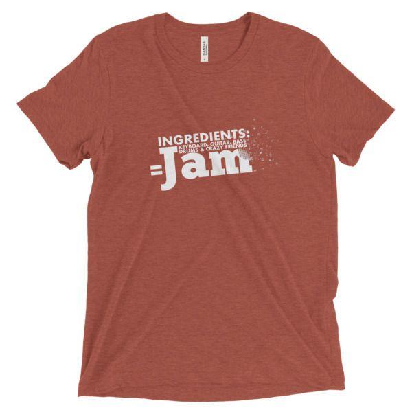 Unisex Short sleeve t-shirt   Jam Session, AU$33.50