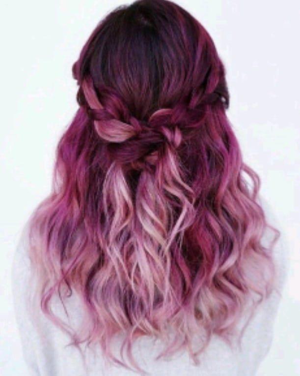 Hair Pinkhair Pink Hairstyles Everythingpink Cute Everythingfashion Hair Styles Magenta Hair Magenta Hair Colors