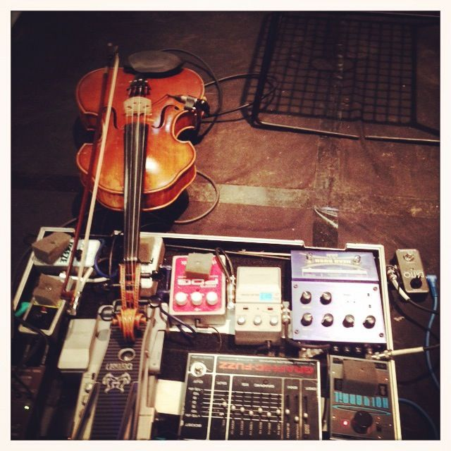 The Noise- the equipment that helped transport us to another musical dimension. Acoustic Improvisation at its best.