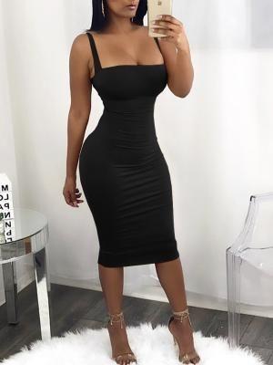 Sexy Bandage Strappy Back Bodycon Dress (S/M/L/XL) $27.99